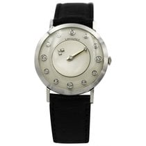 Longines White gold Champagne 32mm pre-owned