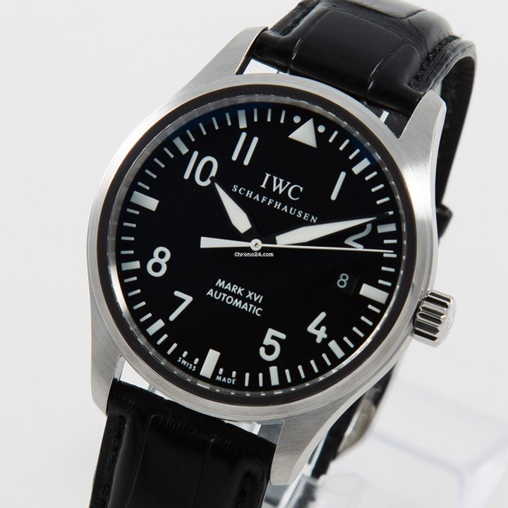 5028e71080a6 IWC Pilot Mark XVI top condition box and papers for RM14