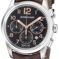 JeanRichard Bressel Steel 42mm Black Arabic numerals United States of America, New York, Spring Valley