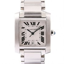 Cartier Steel 28mm Automatic W51002Q3 pre-owned