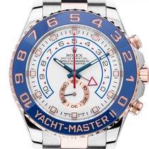 Rolex Yacht-Master II Gold/Stahl 44mm Weiß Arabisch Deutschland, Stuttgart
