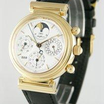 IWC Da Vinci Perpetual Calendar Aur galben 39mm Alb