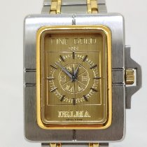 Delma Steel 32mm Quartz pre-owned