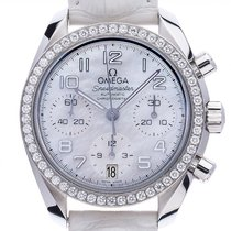 Omega Speedmaster Ladies Chronograph new Automatic Chronograph Watch with original box and original papers 324.18.38.40.05.001