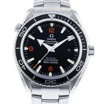 Omega 2200.51.00 Stahl 2010 Seamaster Planet Ocean 45.5mm gebraucht