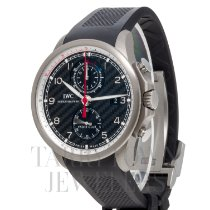 IWC Titanium Automatic Black Arabic numerals 45mm new Portuguese Yacht Club Chronograph