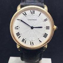 Cartier Ronde Louis Cartier Gelbgold 34mmmm Silber Römisch Deutschland, münchen