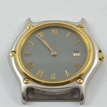 에벨 금/스틸 34mm 쿼츠 184909 중고시계