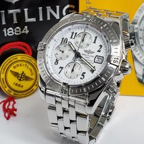 Breitling Steel 44mm Silver No numerals United States of America, California, Los Angeles