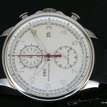 IWC Portuguese Yacht Club Chronograph Staal 45.4mm Zilver Arabisch Nederland, Wageningen