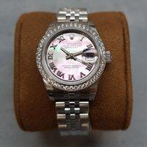 Rolex Lady-Datejust Steel 26mm Mother of pearl Roman numerals Australia, Box Hill