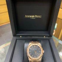 Audemars Piguet yeni Otomatik 41mm Açık kırmızı altın Safir cam