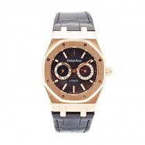 Audemars Piguet Royal Oak Day-Date Rose gold 39mm Black