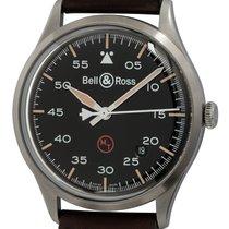 Bell & Ross BR V1 folosit 38mm Negru Data Piele de vita