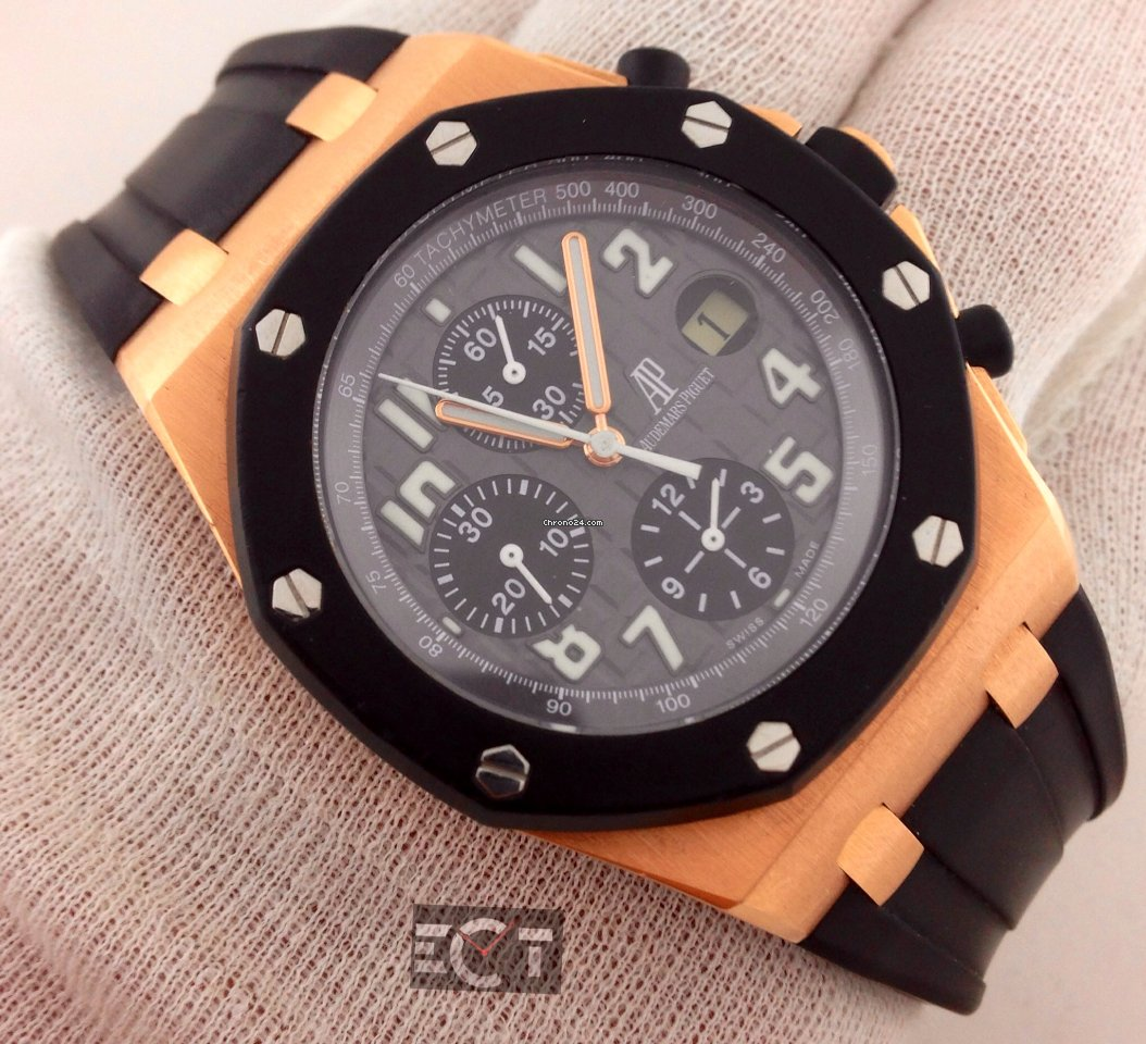 Audemars piguet royal oak offshore rose gold rubber clad for s 41 071 for sale from a for Royal oak offshore rose gold 42mm