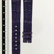 Cartier Purple Leather Croco Strap
