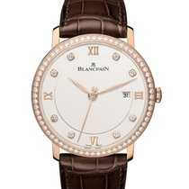 Blancpain Villeret Ultra-Slim 6651-2987-55B New Rose gold 40mm Automatic