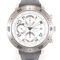 Hermès Clipper chronographe CP 2.910 With original box