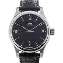 Oris Classic 42 Date Black Dial