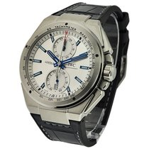 IWC IW378509 Ingenieur Chronograph Racer in Steel - On Black...