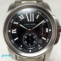 卡地亚 42mm 自動發條 新的 Calibre de Cartier (Submodel) 黑色