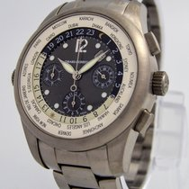 "Girard Perregaux ""World Time Chronograph"" Watch 4980 /..."