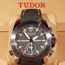 Tudor Aeronaut GMT  Stahl, Zifferblatt grün  (Automatik,...