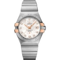 Omega Constellation Ladies Gold/Steel 31mm White No numerals United States of America, New York, New York