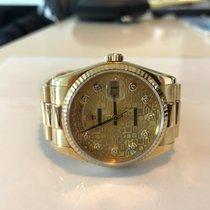Rolex Day-Date 36 brugt 36mm Gult guld