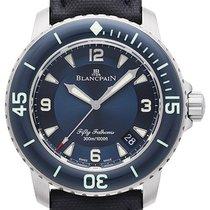 Blancpain Fifty Fathoms Stahl 45mm Blau Arabisch Deutschland, Bietigheim-Bissingen