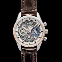 Zenith Rose gold Automatic Transparent 42.00mm new El Primero Chronomaster