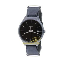 Rado True Ceramic Quartz Black Dial Textile Strap 38mm