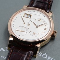 A. Lange & Söhne Lange 1 Rose gold 39.5mm Silver Roman numerals United States of America, Texas, Houston