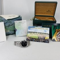 Rolex 34mm Automatic pre-owned Oyster Perpetual Date
