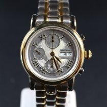 Montblanc Gold/Steel 42mm Automatic 102353 new