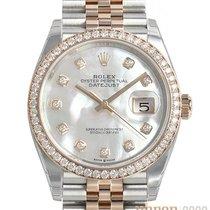 Rolex Datejust 126281RBR Unworn Gold/Steel 36mm Automatic