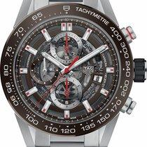 TAG Heuer Carrera Calibre HEUER 01 new Automatic Chronograph Watch with original box CAR201U-BA0766