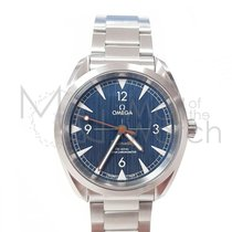 Omega Seamaster Railmaster Steel 40mm Blue