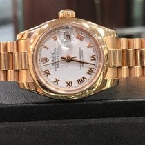 Rolex Lady-Datejust Rose gold 26mm Roman numerals
