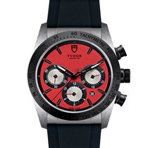 Tudor Fastrider Chrono Steel 42mm Red United States of America, New Jersey, Edgewater