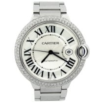 Cartier Ballon Bleu 42mm Steel 42mm Silver Roman numerals United States of America, California, Fullerton