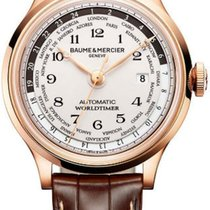 Baume & Mercier Capeland Rose gold 44mm White United States of America, New York, NY