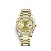 Rolex Day-Date 40 228348RBR0002 Новые Желтое золото 40mm Автоподзавод