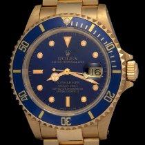 Rolex 16618 Or jaune 1989 Submariner Date 40mm nouveau