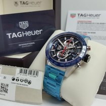 TAG Heuer Carrera Calibre HEUER 01 new 2019 Automatic Chronograph Watch with original box and original papers CAR201T.BA0766