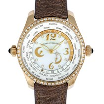 Girard Perregaux WW.TC Rose gold 41mm White Arabic numerals United States of America, Pennsylvania, Southampton