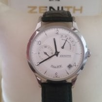 Zenith Elite Power Reserve Acero 37mm Madreperla