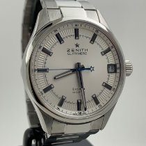 Zenith Steel 40mm Automatic 03.2170.4650/01.M2170 pre-owned