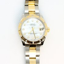 Rolex Lady-Datejust Gold/Steel 31mm Mother of pearl No numerals