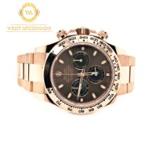 Rolex Rose gold Automatic Brown No numerals 40mm new Daytona